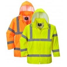 Jacheta de ploaie Hi-Vis