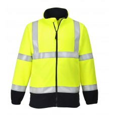 Fleece HiVis ignifug antistatic