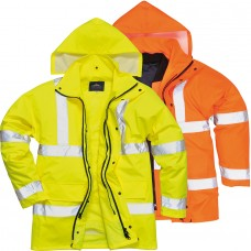 Jacheta Traffic Hi-Vis 4-in-1