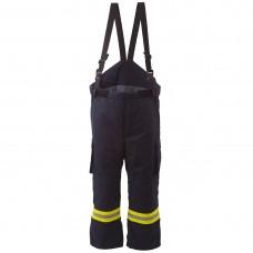 Pantaloni cu pieptar pompieri 4000
