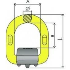 D-Ring cu arc G80