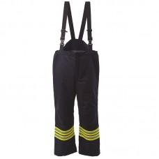 Pantaloni cu pieptar pompieri